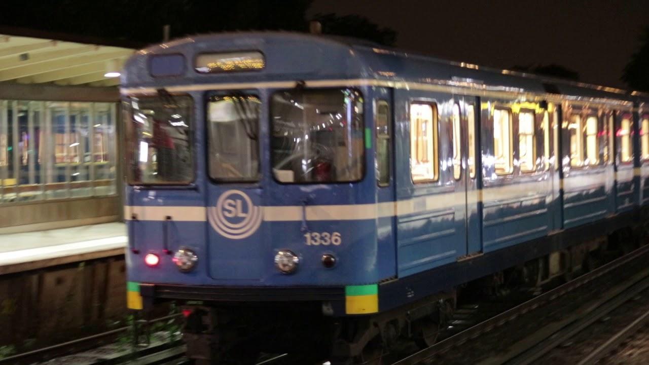 C14 Tunnelbana @ Gullmarsplan Gröna linjen