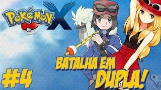 pokémon x nova jornada 4 encontrando furfrou gostoso éssidois shauna batalha em dupla
