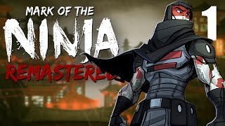 Stealthy Ninja Action! - Mark of the Ninja Remastered Gameplay