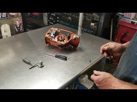 West Coast Muscle Saws Chainsaw seal removal and installation