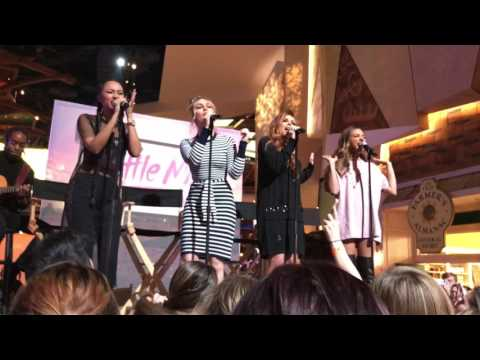 """Little Mix Performing """"Touch"""" Acoustic At Mohegan Sun, CT 2/17/17"""