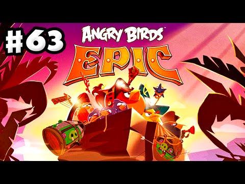 Angry Birds Epic - Gameplay Walkthrough Part 63 - Burning Plain! (iOS, Android)
