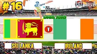Icc Cricket World Cup 2015 (gaming Series)   Pool B Match 16 Sri Lanka V Ireland