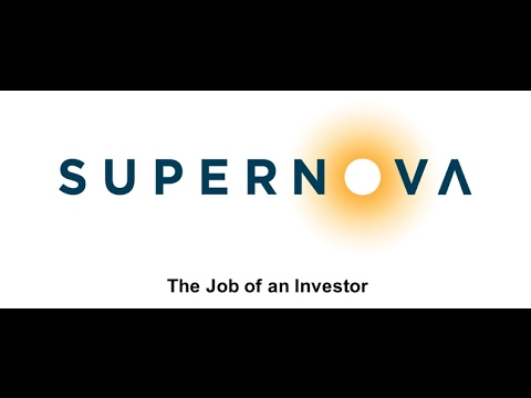 The Job of an Investor