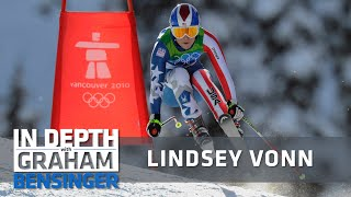 To make herself a better athlete, lindsey vonn would train against the men. after clocking mere 100ths of second behind great norwegian skier aksel svi...
