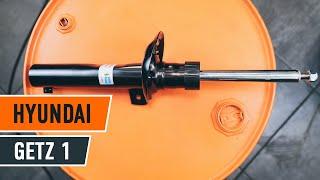 Jak vyměnit uložení tlumiče pružení předního a tlumič na HYUNDAI GETZ 1 NÁVOD | AUTODOC