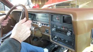 COLD Start 1974 Ford Galaxie 500 After Winter 2016