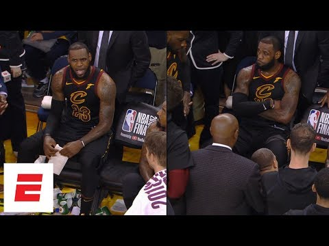 [FULL] Uncut video of Cavaliers' bench before, during and after JR Smith's Game 1 blunder   ESPN