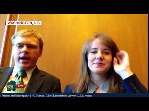 Supreme Court Clerks Ryan Snyder '12L, Megan Dillhoff '11L Interview - Notre Dame Day 2015