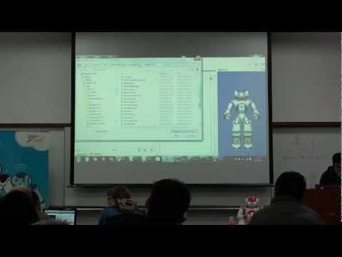 NAO Robot Course - Part 4