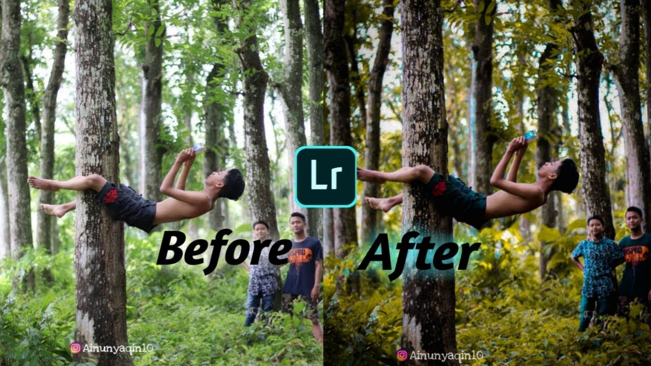 #Part1 Cara Edit foto di apk Lightroom ala anak desa ...