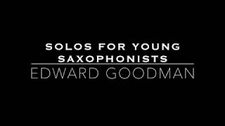 Solos for Young Saxophonists - Canzonetta and Giga by Leroy Ostransky