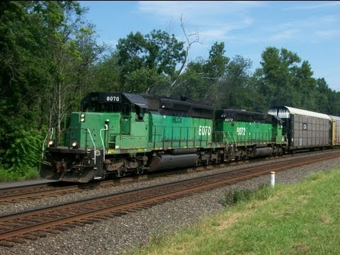 BN, BNSF, CP, CSXT, D&H, HLCX, MP, NS, And UP In Western NY 7/20-21/13!!!