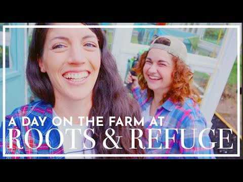 A Day On The Roots And Refuge Farm  |  VLOG  |  Hey It's A Good Life