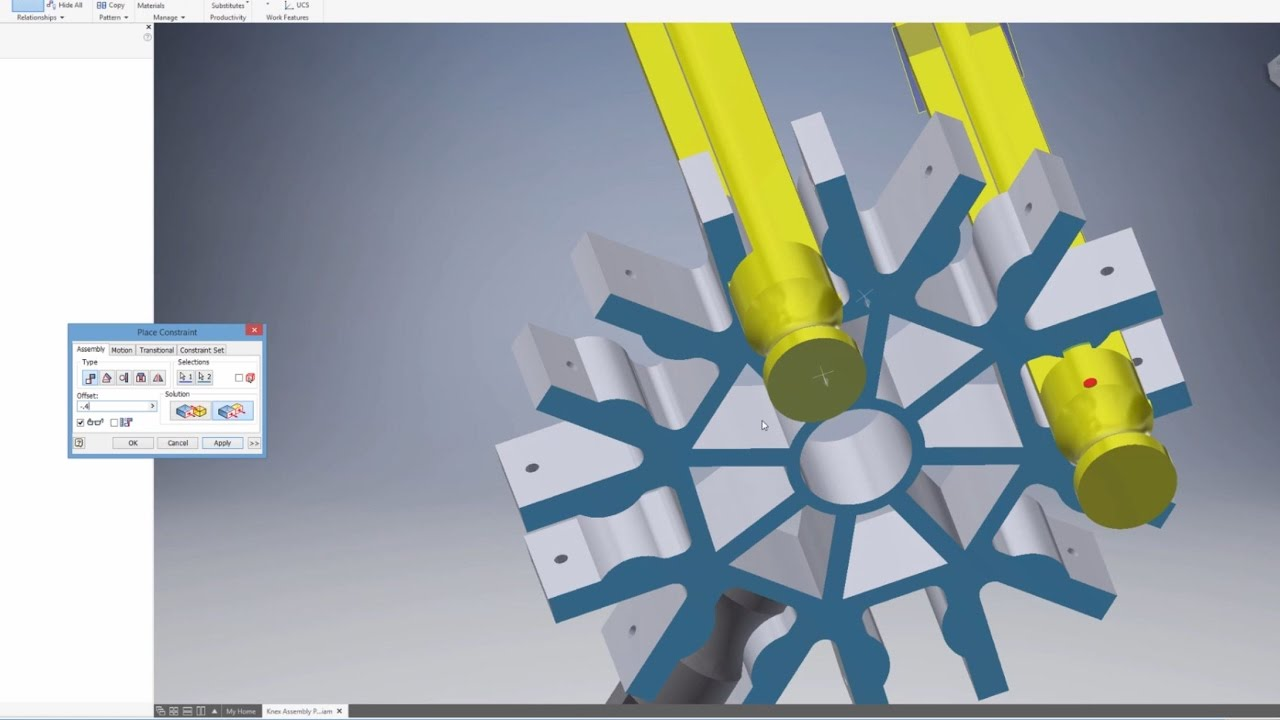 autodesk inventor assembly tutorial pdf
