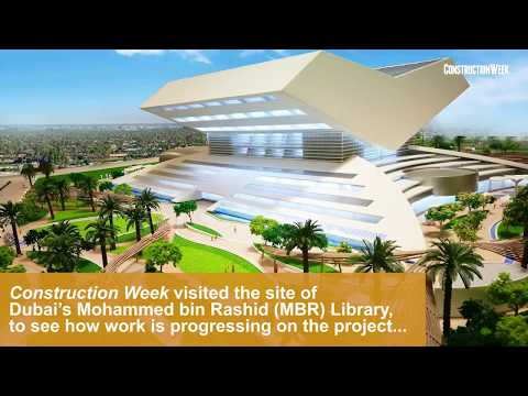 Dubai's $272m MBR Library is due to complete in 2018