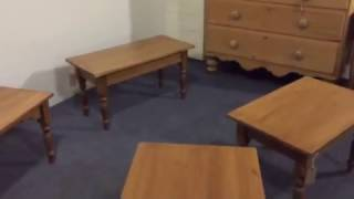 Pine Coffee Tables Made To Measure   Pinefinders Old Pine Furniture Warehouse