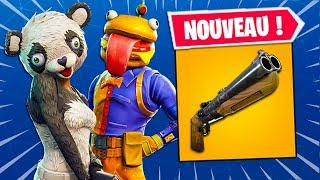 Update 5.20: NEW FUSIL A POMPE, SKINS, ITEMS AND OTHER on Fortnite: Battle Royale