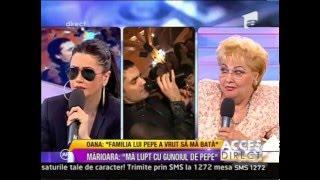 Oana Zăvoranu o ameninţă pe Adriana Bahmuţeanu (SCANDAL- ACCES DIRECT) HD