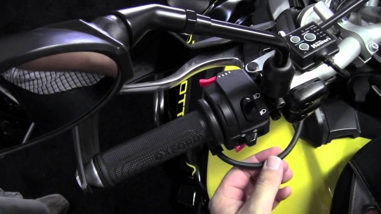 Oxford Heaterz Premium Touring Heated Grips
