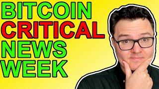 Bitcoin & Crypto Critical News Updates!