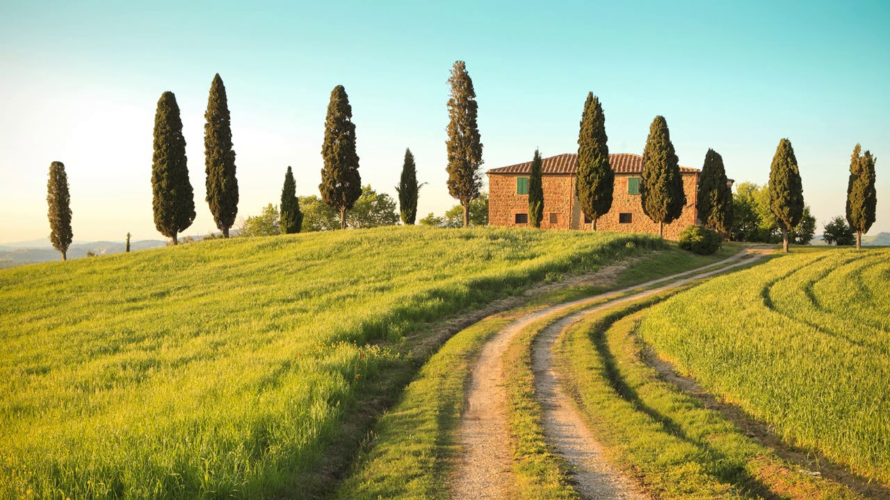 Countryside Nature Ambient Music White Noise Italian Landscape