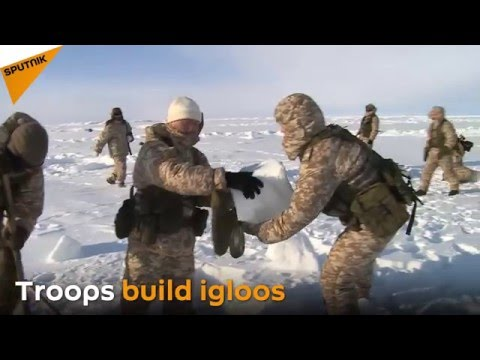 Baptism by Ice: Russia and Belarus Conduct Military Drills in Arctic