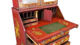 LaunchPad: Chinoiserie Secretary Cabinet