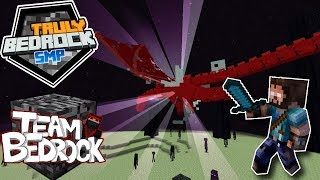 Ender Dragon Fight Truly Bedrock Episode 14 Minecraft 1.10 Update