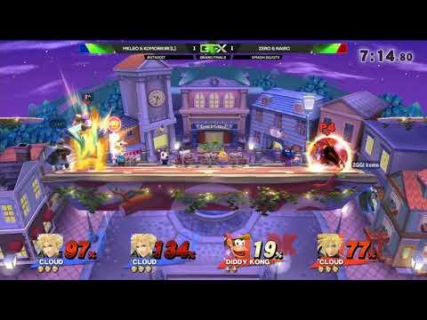 Zero & Nairo (Red) vs. MKLeo & Komorikiri (Blue) | Smash 4 Doubles GF | GTX
