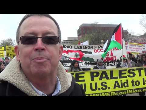 Free Palestine Rally and March to AIPAC 2016