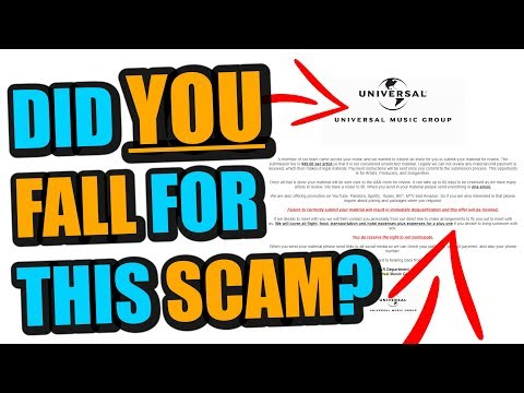 BEWARE This HUGE Music Industry Scam Going Around