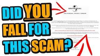 BEWARE This HUGE Music Industry Scam Going Around
