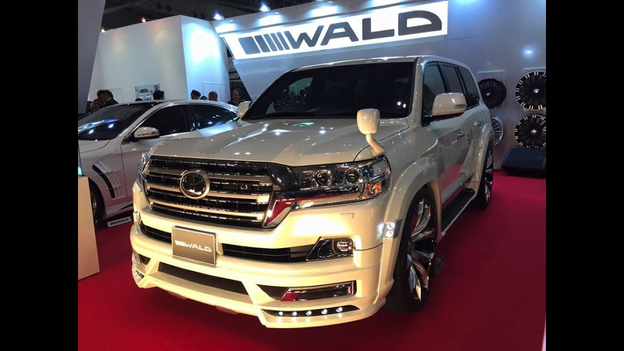 2016 wald toyota land cruiser tokyo auto salon 2016 youtube. Black Bedroom Furniture Sets. Home Design Ideas