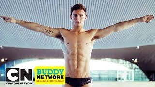 Tom Daley: Q&A | CN Buddy Network | Cartoon Network