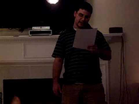 Brandon Holloman Speech