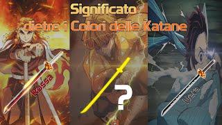 Download lagu SIGNIFICATO DIETRO I COLORI DELLE KATANE -  STILI E LORO DERIVANTI- DEMON SLAYER ITA