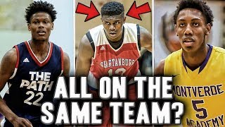 Why Zion Williamson's Decision Could Change Everything | The Top 3 Recruits On The Same Team?