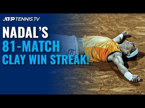 Rafa Nadal's 81-Match Winning Streak On Clay! 2005-2007