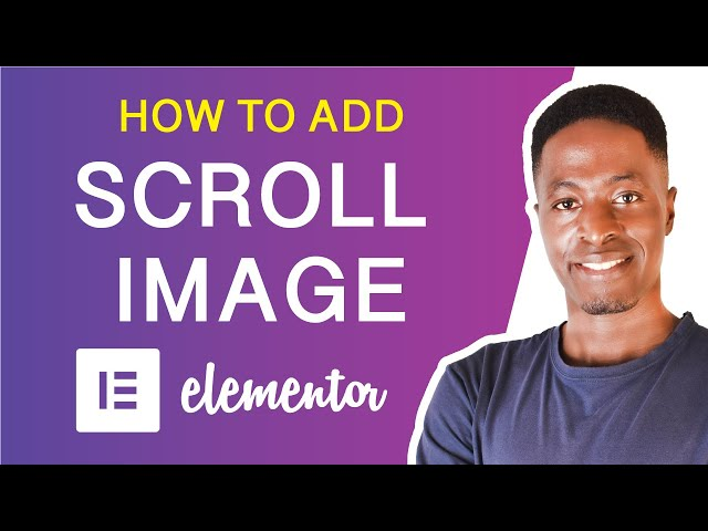 HOW TO ADD A SCROLL IMAGE IN ELEMENTOR (Showcase mockups, demos & portfolios)