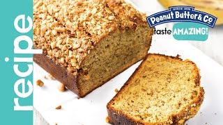 Honey Peanut Butter Banana Bread Recipe