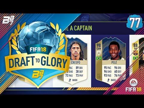 98 PRIME PELE! | FIFA 18 DRAFT TO GLORY #77