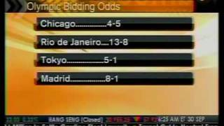 Olympic Bidding Odds