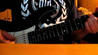 Iron Maiden - Public enema number one solo (cover)