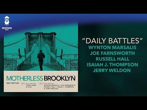 Motherless Brooklyn Official Soundtrack | Daily Battles - Wynton Marsalis | WaterTower