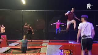 Nieuwe fitnesstrend: spring je fit op een trampoline