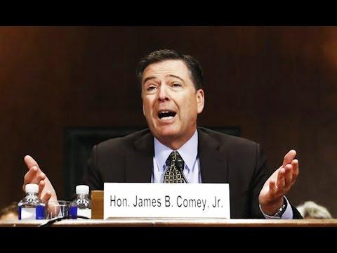James Comey: It Wasn't Me!