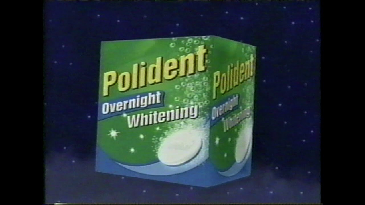 Polident Overnight Commercial 2006 Featuring Florence Henderson
