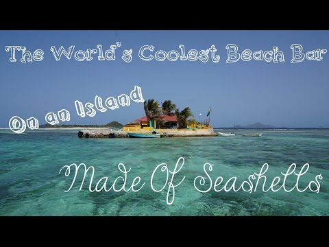 The World's Coolest Beach Bar - Happy Island!