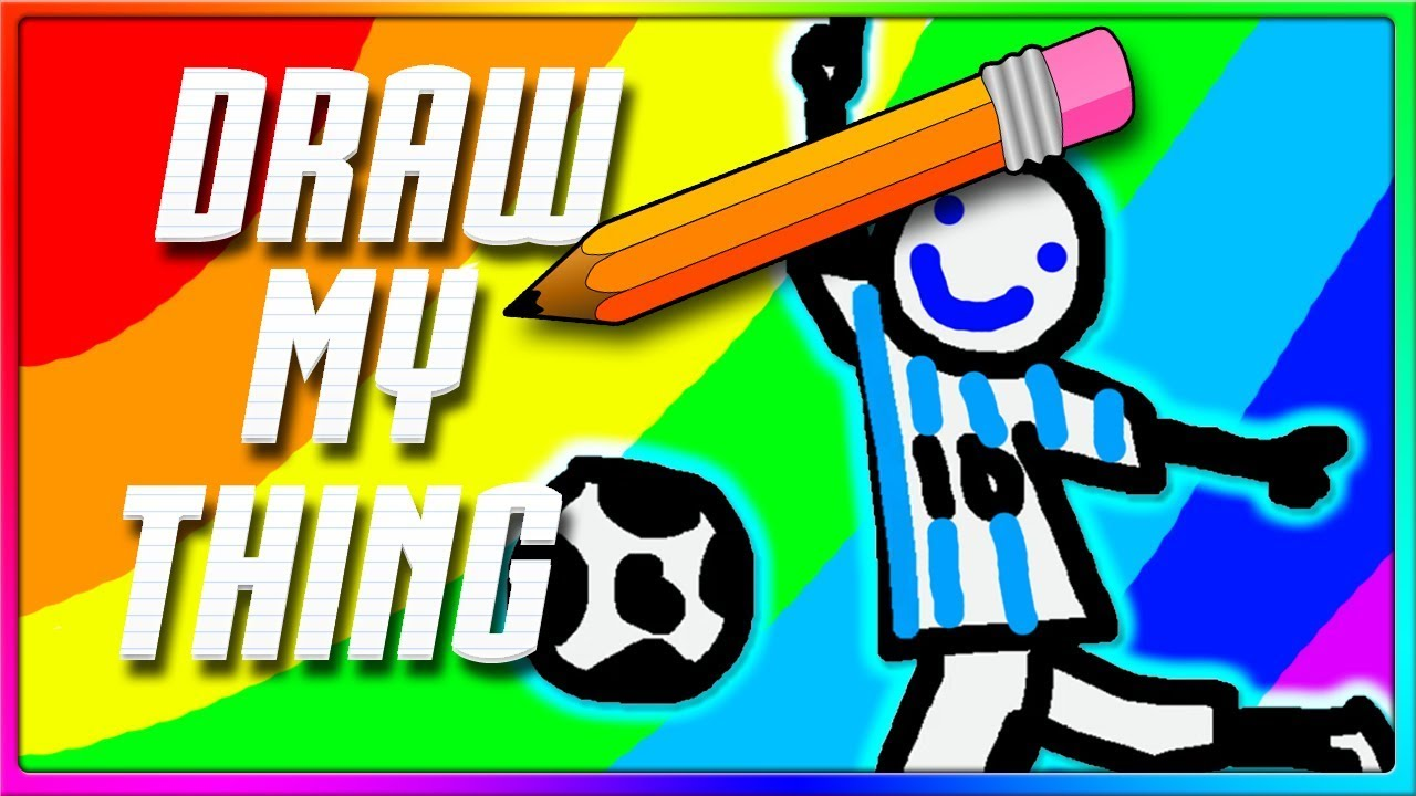 IS THAT MESSI?! | Draw My Thing Funny Game